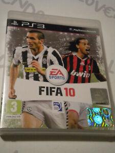 FIFA 10 PLAYSTATION 3 Gioco ottimo stato PAL completo
