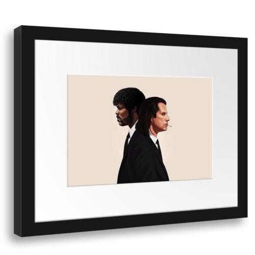 Jackson Wandbild Filmplakat Filmmotiv Pulp Fiction John Travolta Samuel L