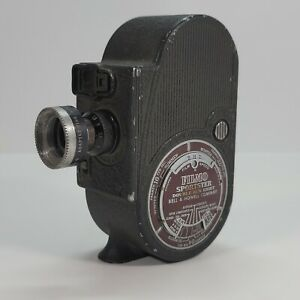 Working-1930-039-s-Bell-amp-Howell-Filmo-Sportster-Double-Run-Eight-8mm-Movie-Camera