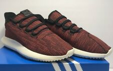 355e3691fee0e Adidas Mens Size 10 Tubular Shadow CK Core Red Black White Running Shoes  ac8791