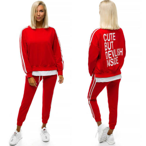 Sportanzug Trainingsanzug Hausanzug Hose Sweatshirt OZONEE X//1000 Damen