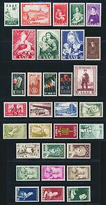SAARLAND-1954-1956-Jahrgaenge-komplett-tadellos-postfrisch-Mi-48