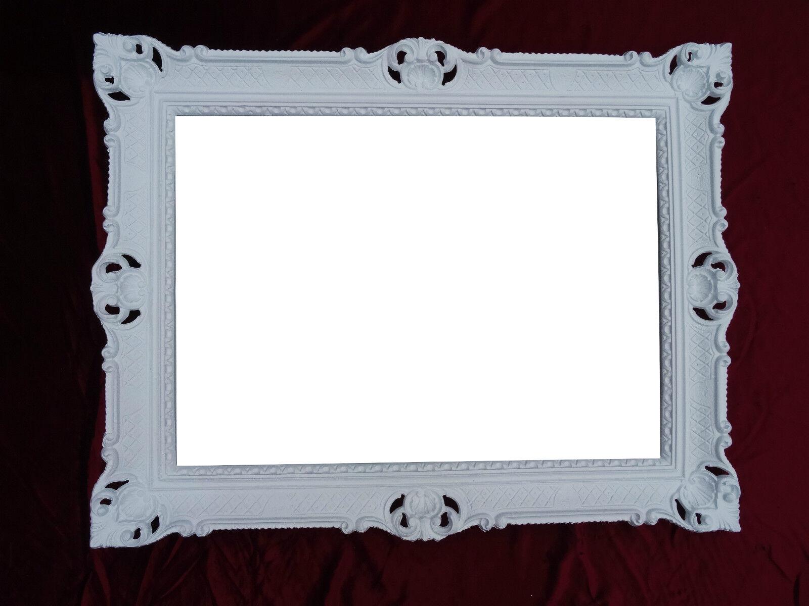Bilderrahmen wei repro antik barock rokoko fotorahmen for Couchtisch 90x70