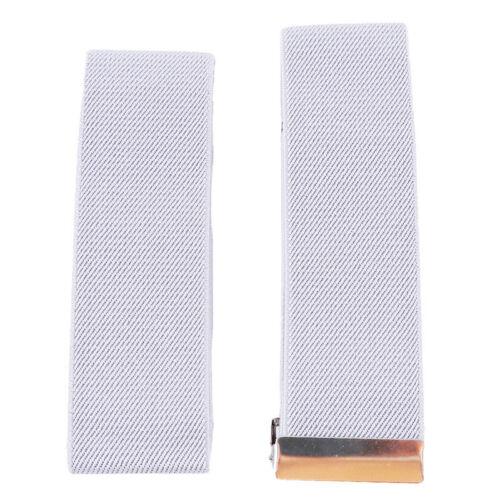 2pcs//Kit Unisex Blouse Shirt Sleeve Holders Garter Elastic Arm Bands 13 Colors