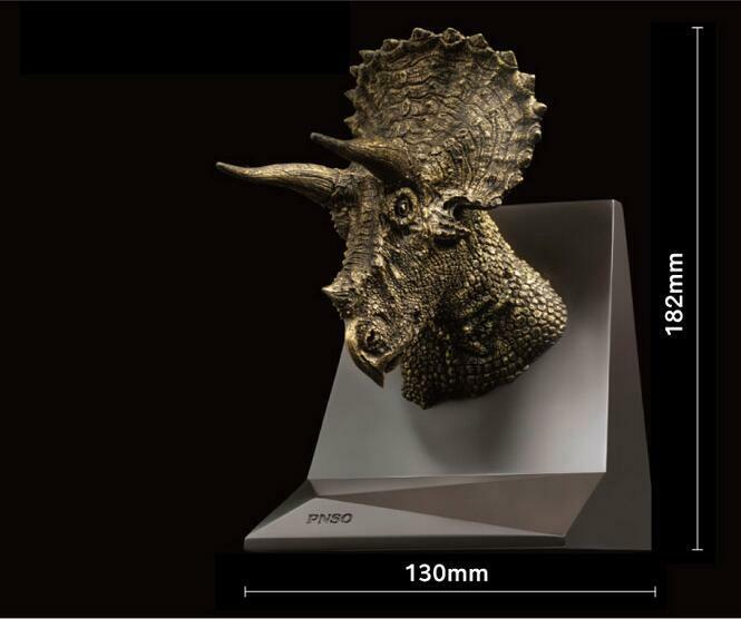 PNSO Triceratops Dolly Dinosaurs Dinosaurs Dinosaurs Chongqing Models Museum Release Version Figures 9ac1fd