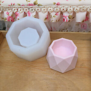 Diamond-Shape-Flower-Pot-Concrete-Silicone-Mold-for-DIY-Candle-Holder-Mould