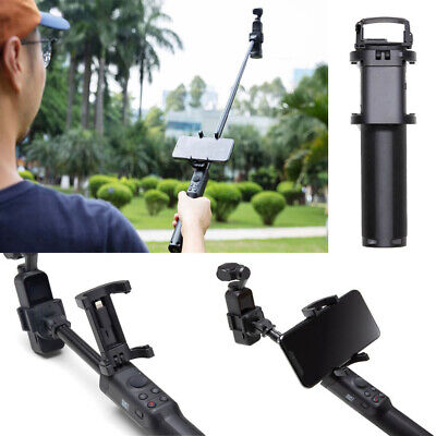 For DJI Osmo Pocket Extension Rod built With A Phone Holder 1//4-inch Tripod Moun