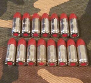 Diplomatique 9 Mm Luger Snap Caps Set Of 15 (rouge + Nickel)-afficher Le Titre D'origine Ferme En Structure