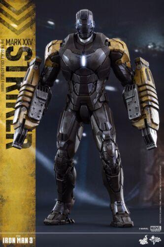 MK 25 1//6 Figure IN STOCK Mark XXV HOT TOYS MMS277 Iron Man 3 Striker