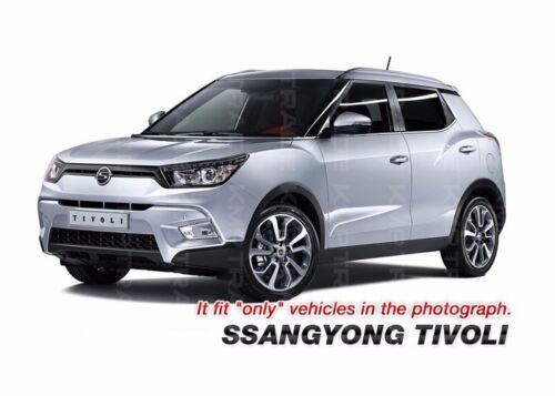 Chrome Interior Garnish Molding Kit C677 For Ssangyong 16 2017 2018 2019 Tivoli