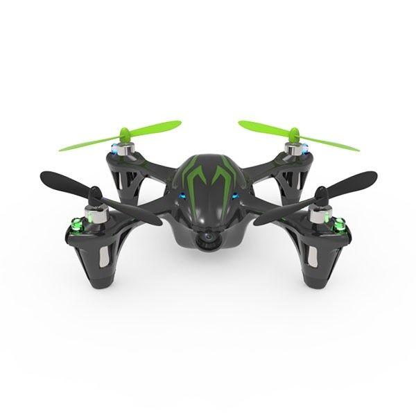 H107c-bg hubsan x4 mini - quadcopter fhrte w   kamera 4ch 2.4ghz lcd - tx