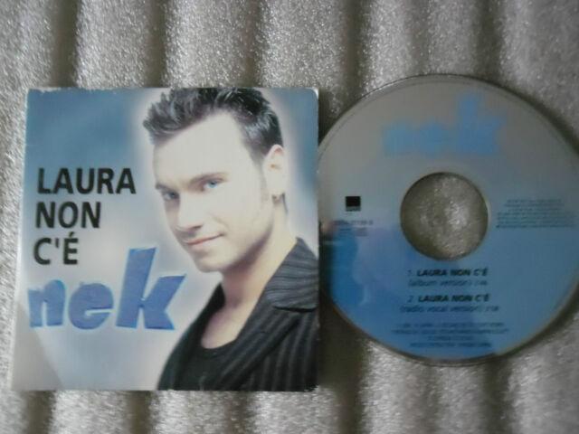 CD-NEK-LAURA NON C'E-ITALIA MUSIC-ROLANDO D'ANGELI-(CD SINGLE)-1997-2 TRACK