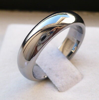 8MM MEN/'S TUNGSTEN CARBIDE TWO TONE ANCHOR PATTERN COMFORT FIT BAND RING SZ 8-14