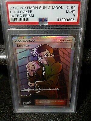 Looker 152/156 Full Art Ultra Rare Pokemon Sun & Moon Ultra Prism