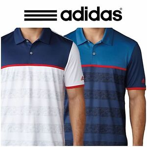 d312e38b Image is loading ADIDAS-CLIMACOOL-2D-CAMO-STRIPE-GOLF-POLO-SHIRT