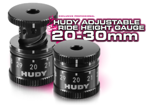 HUDY 107742  Adjustable Ride Height Gauge 20-30mm 1//8 /& 1//10