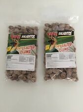 Salted dried plums {Saladitos} 2x1 LB bags Fresh Product { USPS Priority Mail }