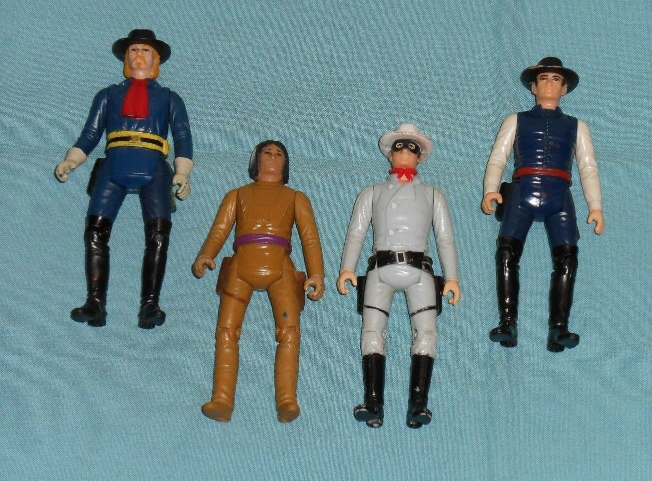 Gabriel The Legend of the LONE RANGER, TONTO, BUTCH CAVENDISH GENERAL CUSTER LOT