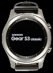 Samsung-Galaxy-Gear-S3-Argent-Classique-Smartwatch-SM-R770-watch