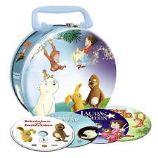 Kids DVD Koffer-Keinohrhasen & Zweiohrküken-Dodo-Der kleine Eisbär-Laura's Stern