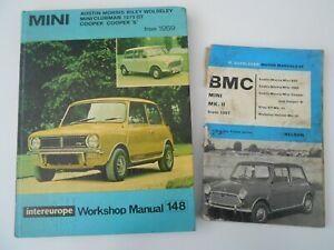Acheter Pas Cher Mini 1275 Gt Cooper S De 1959 Intereurope No.148 & Nelson 84 Workshop Manual-afficher Le Titre D'origine Pour Assurer Une Transmission En Douceur