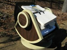 Vintage Rolodex Rotary Business Card File With Swivel Base Model No Sw 24
