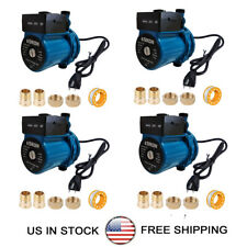 Pack Of 4 Npt34 Automatic Booster Pump 110 120v Hot Water Recirculating Pump