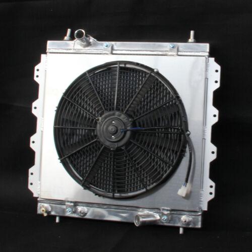 Aluminum Radiator /& Fan Shroud For 01-10 Chrysler PT Cruiser GT Limited LX L4
