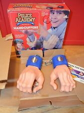 Vintage 1988 Kenner POLICE ACADEMY Role Playing Toy Zed's HANDCUFFERS Handcuffs