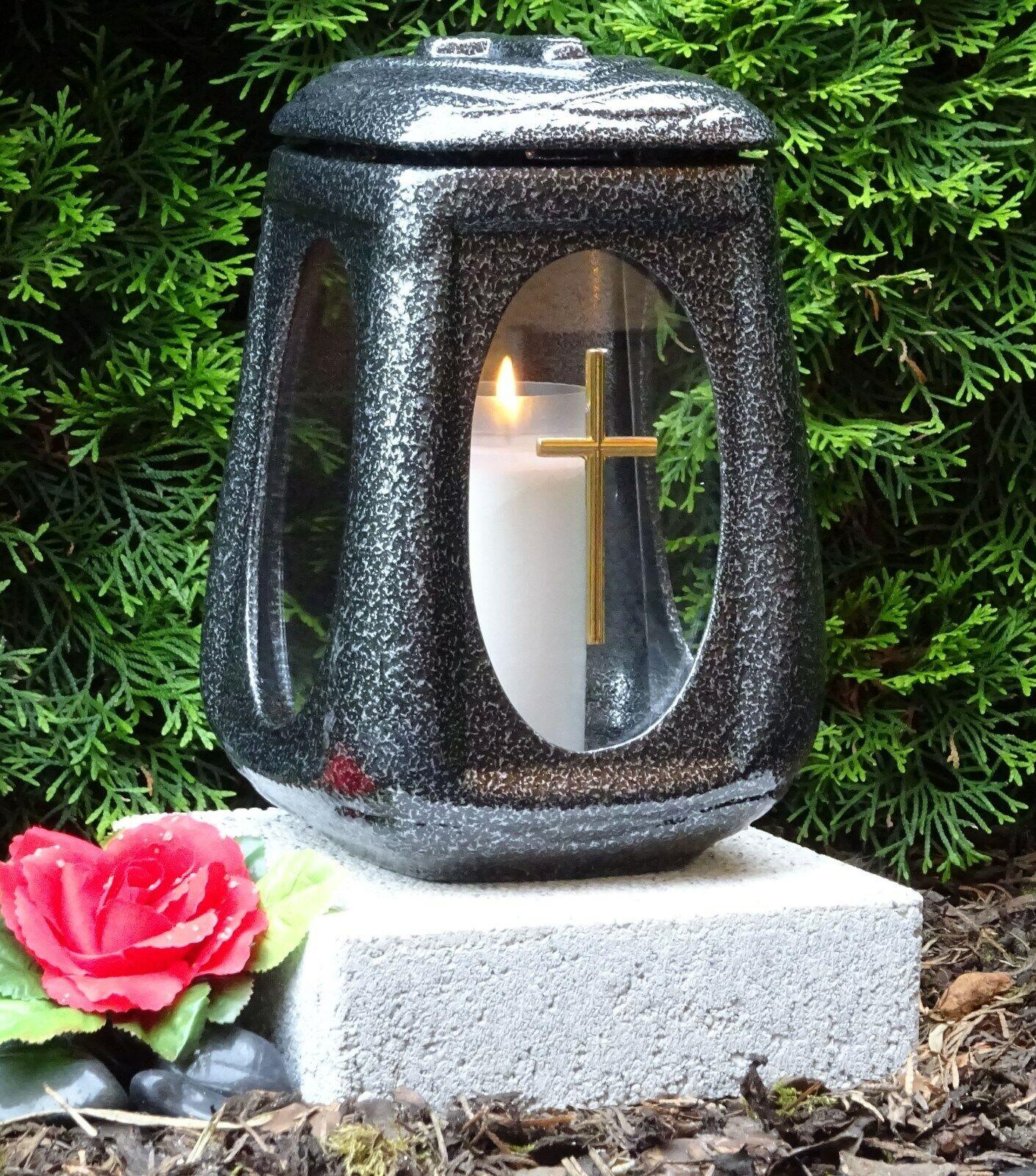 Linterna grave con base lámpara grave grave grave luz corazón grave decoraciones vela