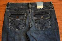 Gap Curvy Fit Low Rise Boot Cut petrol Stretch Blue Jeans - Women Size 6 P