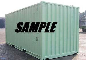 New One Trip 20ft Shipping Container Storage Container for sale in