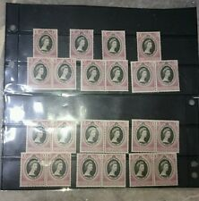 Malaya 11 States QE Queen Elizabeth II Coronation 2 June 1953 New MNH 22 stamp
