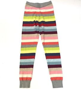 89e529880e Gap Kids Sweater Leggings Girls Large 10 Crazy Striped Holiday ...