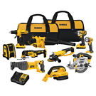 Dewalt 20-Volt 10-Tool 2.0Ah Lithium-Ion Cordless Power Tool Combo Kit