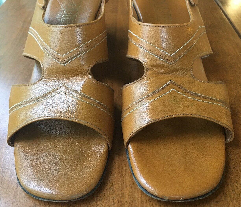 Vintage Italian Cobbies Sandales, Größe 8 1/2 Cond. N, Mint Cond. 1/2 bd9e42