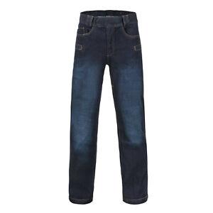 Helikon Tex Greyman Tactical Jeans Denim Mid Dark Blue Pantalon Sr Small Regular-afficher Le Titre D'origine