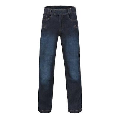 Helikon Tex Greyman Tactical Jeans Denim Mid Dark Blue Pantaloni Sr Small Regular-mostra Il Titolo Originale