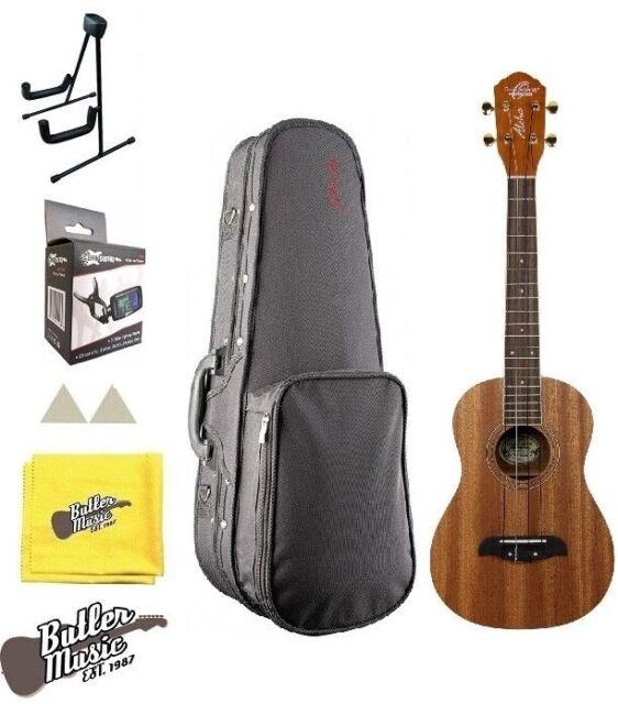 Oscar Schmidt Ou5 Concert Size Koa Ukulele Case Tuner Stand And More Bundle For Sale Online Ebay