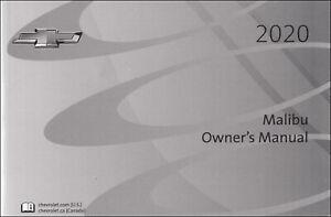 2020 Chevrolet Malibu Owner Manual Operator User Instruction Guide Book Ebay