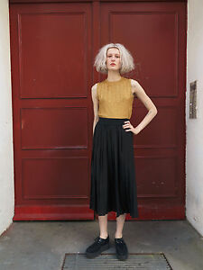 Vintage-mode Für Damen Das Beste Damen Rock Plisseerock Faltenrock 90er True Vintage Woman Pleats Skirt 90's Einen Effekt In Richtung Klare Sicht Erzeugen