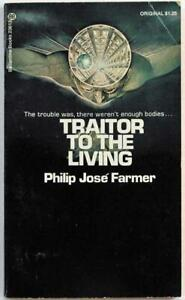 Traitor-to-The-Living-by-Philip-Jose-Farmer-1973-Ballantine-Paperback