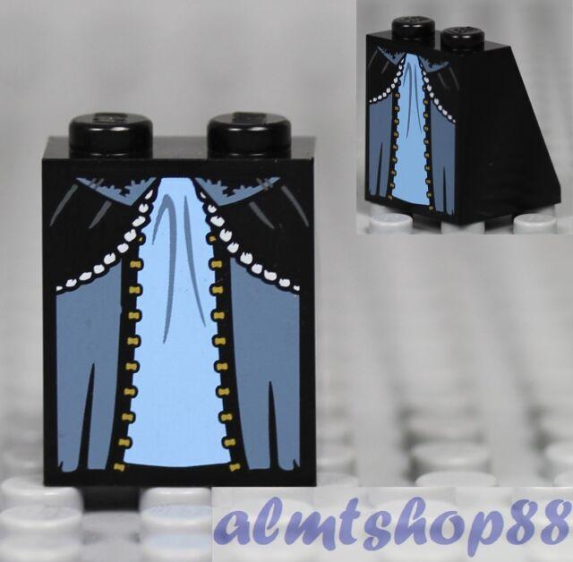 LEGS 010 Lego Flesh tone w// Dark Red Skirt pattern NEW Girl Female Leia 6210