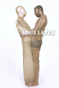 Details about Two Person Sack Bondage Rubber Latex Sleep Sack Playing for  Two Gummi Bondage
