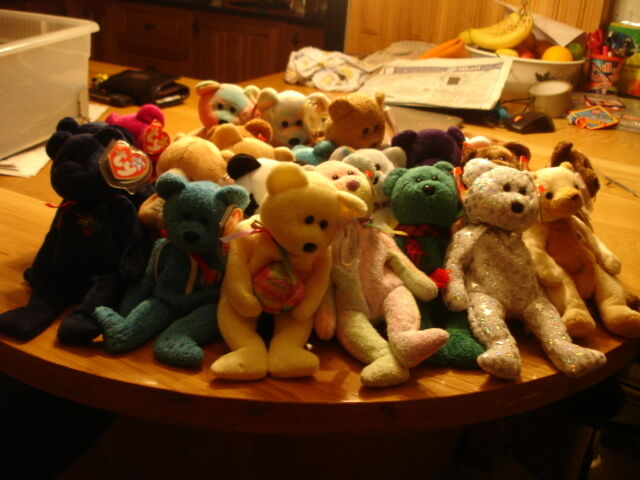 TY  RETIRED BEANIE BABIES  BEARS  YOUR CHOICE