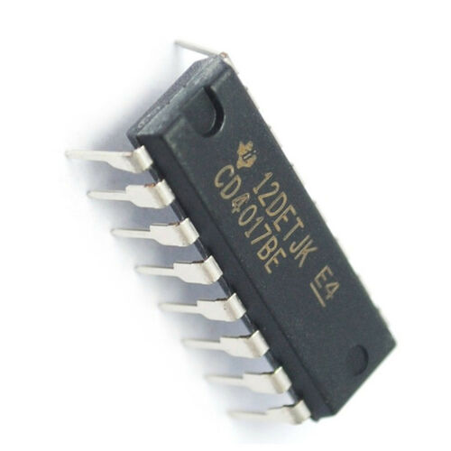 20PCS CD4017 CD4017BE 4017 Decade Counter Decimal Counter IC DIP-16 US
