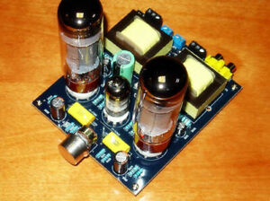 Details about Audio6N2+EL34 Vacuum Tube Amplifier Class A Single-Ended Amp  Board DIY Kit