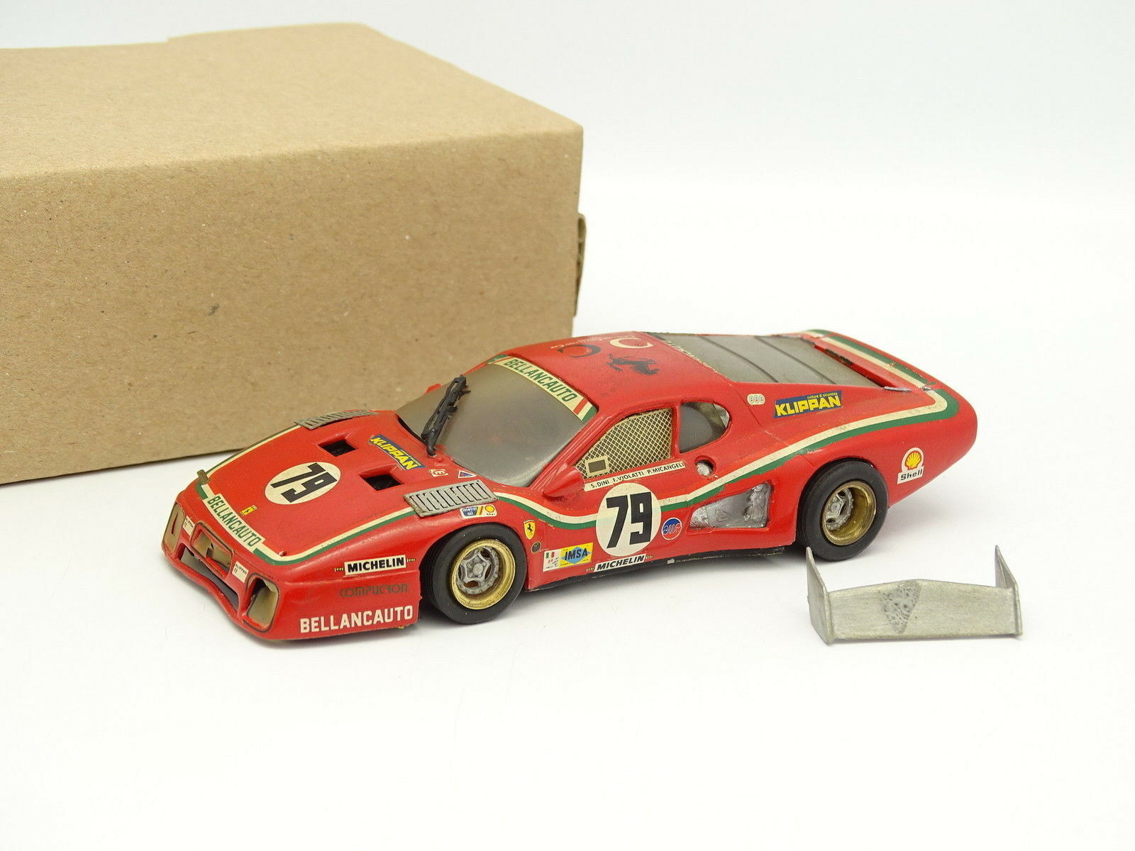 AMR Kit Monté Métal 1/43 - Ferrari 512 BB Bellancauto Le Mans 1980 N°79