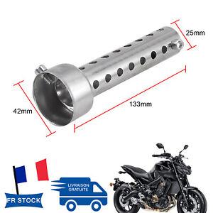 42mm-Moto-echappement-insert-silencieux-collecteur-chicane-DB-tueur-silencieux