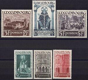 Lussemburgo LUXEMBOURG 1938 Santo Willibrord frase posta FRESCHI MNH ** kw:75 €